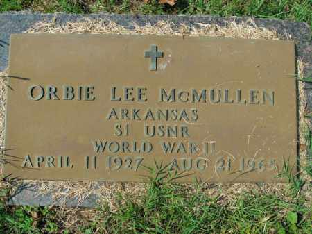 MCMULLEN  (VETERAN WWII), ORBIE LEE - Boone County, Arkansas | ORBIE LEE MCMULLEN  (VETERAN WWII) - Arkansas Gravestone Photos