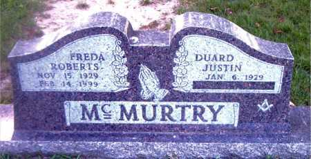 MCMURTRY, FREDA - Boone County, Arkansas | FREDA MCMURTRY - Arkansas Gravestone Photos