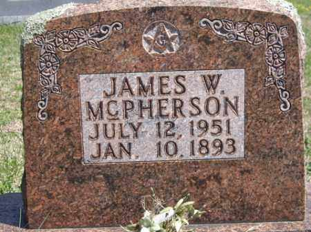 MCPHERSON, JAMES W. - Boone County, Arkansas | JAMES W. MCPHERSON - Arkansas Gravestone Photos