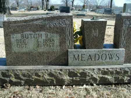 MEADOWS, BUTCH R. - Boone County, Arkansas | BUTCH R. MEADOWS - Arkansas Gravestone Photos