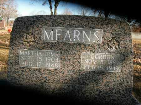 MEARNS, GORDON - Boone County, Arkansas | GORDON MEARNS - Arkansas Gravestone Photos