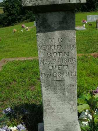 MECKLENBURG, M.C. - Boone County, Arkansas | M.C. MECKLENBURG - Arkansas Gravestone Photos