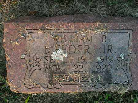 MEEDER, JR, WILLIAM R - Boone County, Arkansas | WILLIAM R MEEDER, JR - Arkansas Gravestone Photos