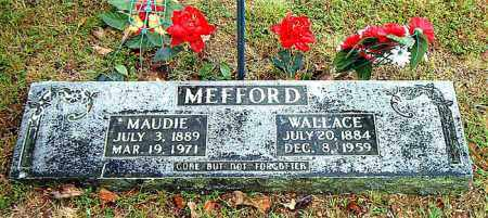 MEFFORD, WALLACE - Boone County, Arkansas | WALLACE MEFFORD - Arkansas Gravestone Photos