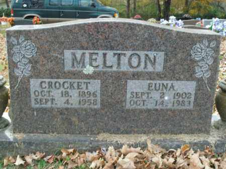 MELTON, EUNA - Boone County, Arkansas | EUNA MELTON - Arkansas Gravestone Photos