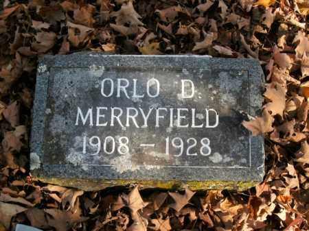 MERRYFIELD, ORLO D. - Boone County, Arkansas | ORLO D. MERRYFIELD - Arkansas Gravestone Photos