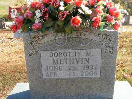 METHVIN, DOROTHY M. - Boone County, Arkansas | DOROTHY M. METHVIN - Arkansas Gravestone Photos