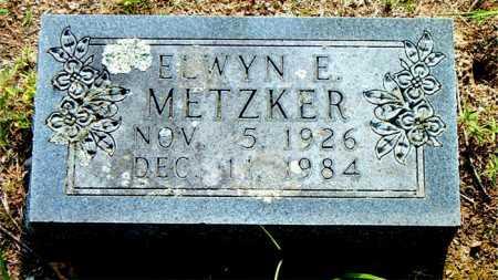 METZKER, ELWYN  E. - Boone County, Arkansas | ELWYN  E. METZKER - Arkansas Gravestone Photos
