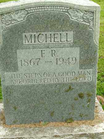 MICHELL, F.R. - Boone County, Arkansas | F.R. MICHELL - Arkansas Gravestone Photos