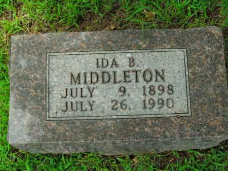 MIDDLETON, IDA B. - Boone County, Arkansas | IDA B. MIDDLETON - Arkansas Gravestone Photos
