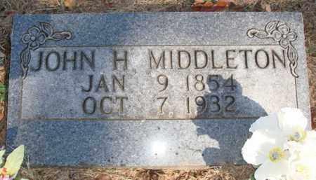 MIDDLETON, JOHN HENRY - Boone County, Arkansas | JOHN HENRY MIDDLETON - Arkansas Gravestone Photos