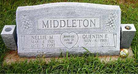 MIDDLETON, QUENTIN E. - Boone County, Arkansas | QUENTIN E. MIDDLETON - Arkansas Gravestone Photos