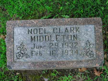 MIDDLETON, NOEL CLARK - Boone County, Arkansas | NOEL CLARK MIDDLETON - Arkansas Gravestone Photos