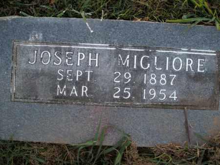 MIGLIORE, JOSEPH - Boone County, Arkansas | JOSEPH MIGLIORE - Arkansas Gravestone Photos
