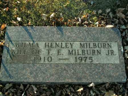 MILBURN, WILMA - Boone County, Arkansas | WILMA MILBURN - Arkansas Gravestone Photos