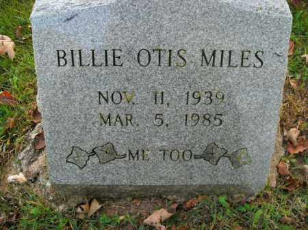 MILES, BILLIE OTIS - Boone County, Arkansas | BILLIE OTIS MILES - Arkansas Gravestone Photos