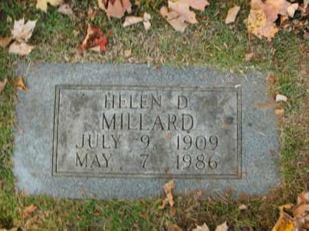 MILLARD, HELEN - Boone County, Arkansas | HELEN MILLARD - Arkansas Gravestone Photos
