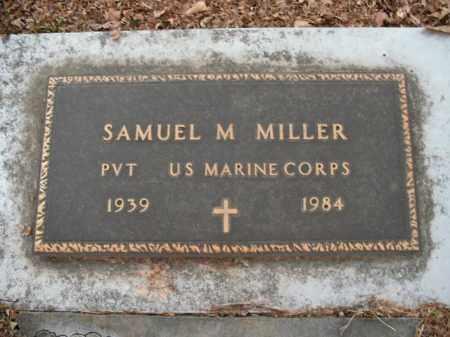 MILLER  (VETERAN), SAMUEL M - Boone County, Arkansas | SAMUEL M MILLER  (VETERAN) - Arkansas Gravestone Photos