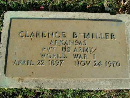 MILLER  (VETERAN WWI), CLARENCE B - Boone County, Arkansas | CLARENCE B MILLER  (VETERAN WWI) - Arkansas Gravestone Photos