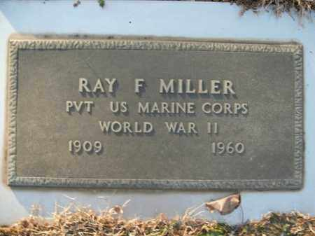MILLER  (VETERAN WWII), RAY F - Boone County, Arkansas | RAY F MILLER  (VETERAN WWII) - Arkansas Gravestone Photos