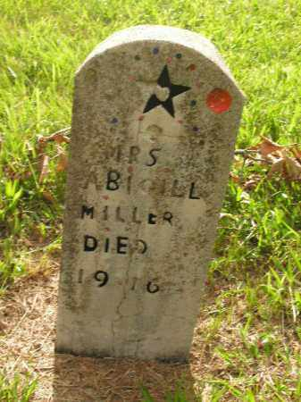 MILLER, ABIGILL - Boone County, Arkansas | ABIGILL MILLER - Arkansas Gravestone Photos