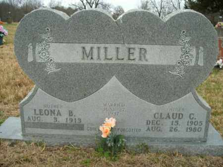 MILLER, CLAUD C. - Boone County, Arkansas | CLAUD C. MILLER - Arkansas Gravestone Photos