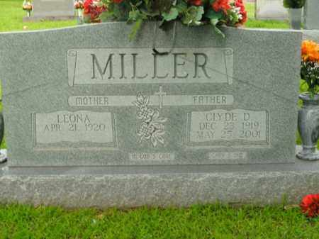 MILLER, CLYDE D. - Boone County, Arkansas | CLYDE D. MILLER - Arkansas Gravestone Photos