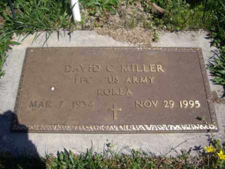 MILLER (VETERAN KOR), DAVID C. - Boone County, Arkansas | DAVID C. MILLER (VETERAN KOR) - Arkansas Gravestone Photos