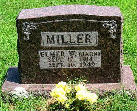 MILLER, ELMER W (JACK) - Boone County, Arkansas | ELMER W (JACK) MILLER - Arkansas Gravestone Photos