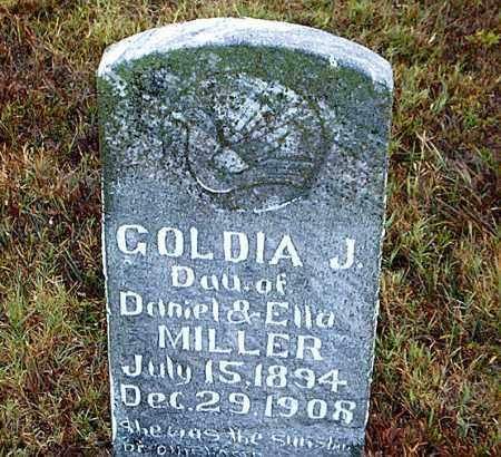 MILLER, GOLDIA  J. - Boone County, Arkansas | GOLDIA  J. MILLER - Arkansas Gravestone Photos