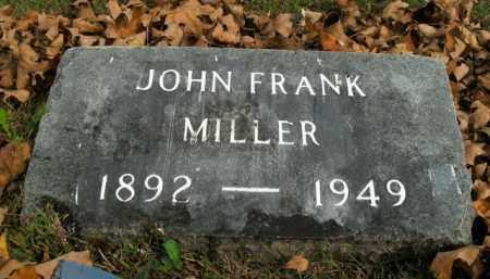 MILLER, JOHN FRANK - Boone County, Arkansas | JOHN FRANK MILLER - Arkansas Gravestone Photos