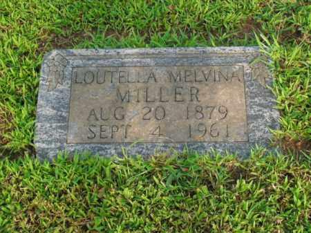MILLER, LOUTELLA MELVINA - Boone County, Arkansas | LOUTELLA MELVINA MILLER - Arkansas Gravestone Photos