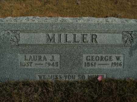MILLER, GEORGE W. - Boone County, Arkansas | GEORGE W. MILLER - Arkansas Gravestone Photos