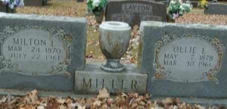 MILLER, OLLIE EVA - Boone County, Arkansas | OLLIE EVA MILLER - Arkansas Gravestone Photos