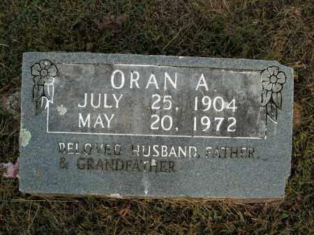 MILLER, ORAN A. - Boone County, Arkansas | ORAN A. MILLER - Arkansas Gravestone Photos