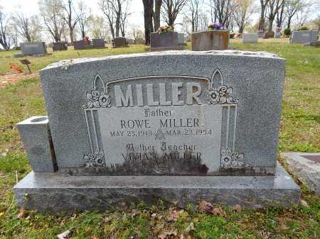 MILLER, ROWE - Boone County, Arkansas | ROWE MILLER - Arkansas Gravestone Photos