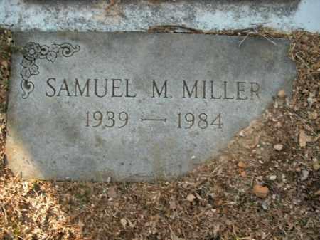 MILLER, SAMUEL M. - Boone County, Arkansas | SAMUEL M. MILLER - Arkansas Gravestone Photos