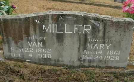 MILLER, VAN - Boone County, Arkansas | VAN MILLER - Arkansas Gravestone Photos