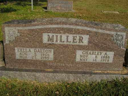 MILLER, CHARLEY A. - Boone County, Arkansas | CHARLEY A. MILLER - Arkansas Gravestone Photos
