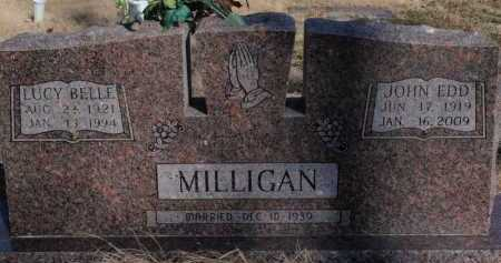 MILLIGAN, LUCY BELLE - Boone County, Arkansas | LUCY BELLE MILLIGAN - Arkansas Gravestone Photos