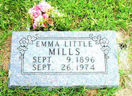 LITTLE MILLS, EMMA - Boone County, Arkansas | EMMA LITTLE MILLS - Arkansas Gravestone Photos