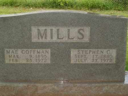 COFFMAN MILLS, MAE - Boone County, Arkansas | MAE COFFMAN MILLS - Arkansas Gravestone Photos