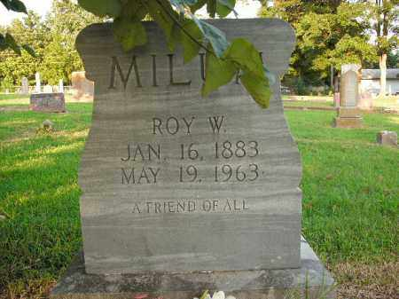 MILUM, ROY W. - Boone County, Arkansas | ROY W. MILUM - Arkansas Gravestone Photos