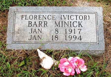 VICTOR MINICK, FLORENCE - Boone County, Arkansas | FLORENCE VICTOR MINICK - Arkansas Gravestone Photos