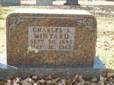 MINYARD, CHARLES A. - Boone County, Arkansas | CHARLES A. MINYARD - Arkansas Gravestone Photos