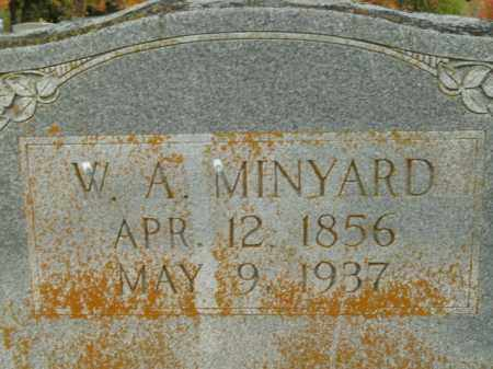 MINYARD, W.A. - Boone County, Arkansas | W.A. MINYARD - Arkansas Gravestone Photos