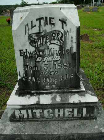 MITCHELL, ALTIE T. - Boone County, Arkansas | ALTIE T. MITCHELL - Arkansas Gravestone Photos