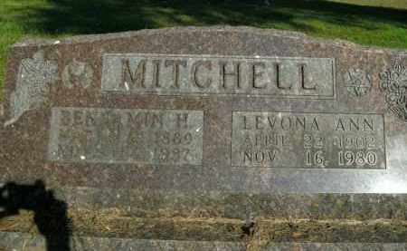 MITCHELL, BENJAMIN H. - Boone County, Arkansas | BENJAMIN H. MITCHELL - Arkansas Gravestone Photos