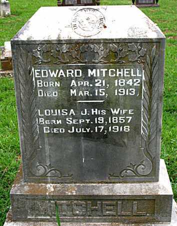 MITCHELL, EDWARD - Boone County, Arkansas | EDWARD MITCHELL - Arkansas Gravestone Photos