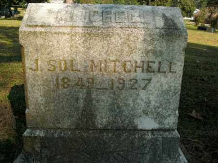 MITCHELL, J. SOL. - Boone County, Arkansas | J. SOL. MITCHELL - Arkansas Gravestone Photos